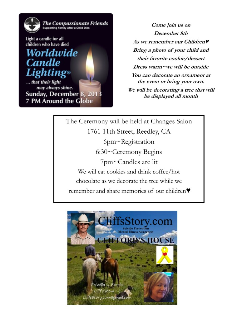 12-08-13 worldwide Candle Lighting Program