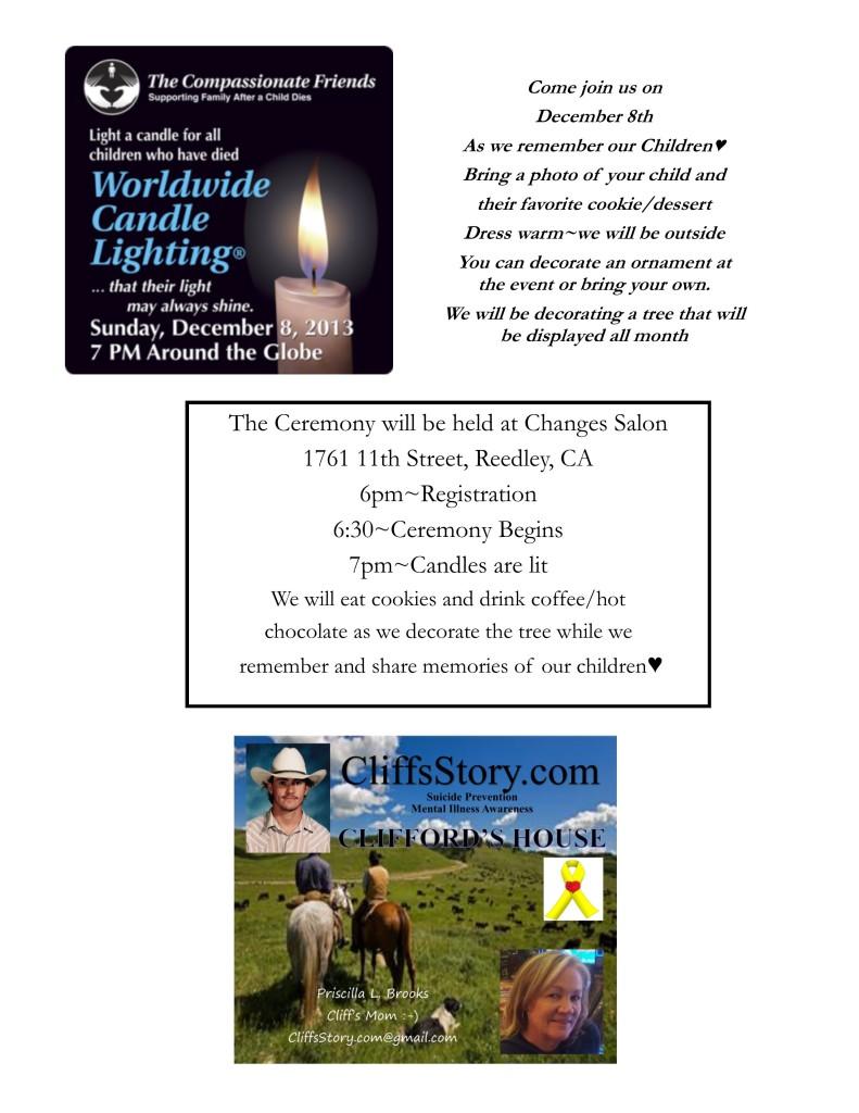 12-08-13 worldwide Candle Lighting Program