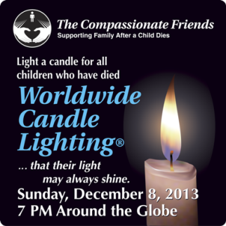 Candle Lighting Ceremony 2013-CompassionateFriends.org
