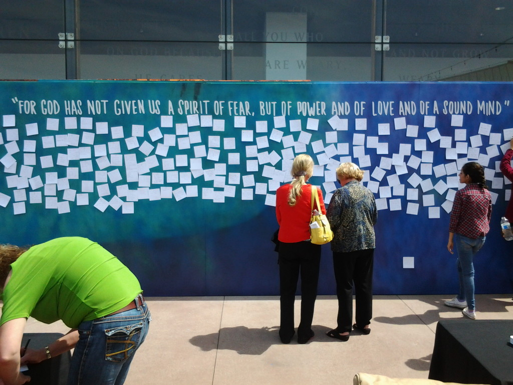 Wall at Saddleback Church